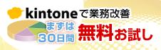 kintone30日間お試し無料